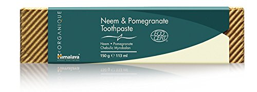 Organique by Himalaya Neem and Pomegranate, Pasta de Dientes