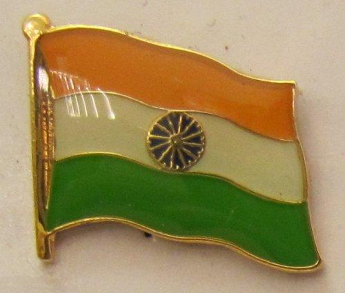 Indien Pin Anstecker Flagge Fahne Nationalflagge Flaggenpin Badge Button Flaggen Clip Anstecknadel