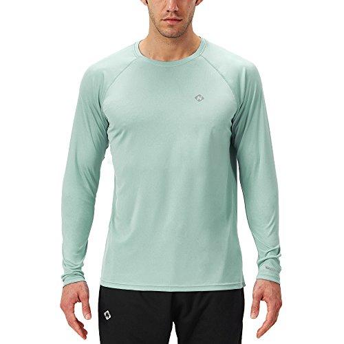 NAVISKIN Camiseta Deportiva Protección UV UPF 50+ Manga...