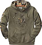Legendary Whitetails Men's Standard Camo Outfitter Hoodie, Army, Large
