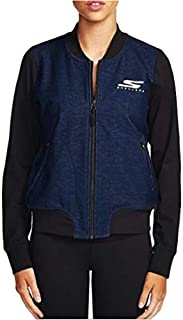 Sketchers Women's GO Walk Full Zip Bomber Jacket Navy/Black