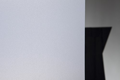 Statische raamfolie Frost White in 45cm breedte privacy film (meter)