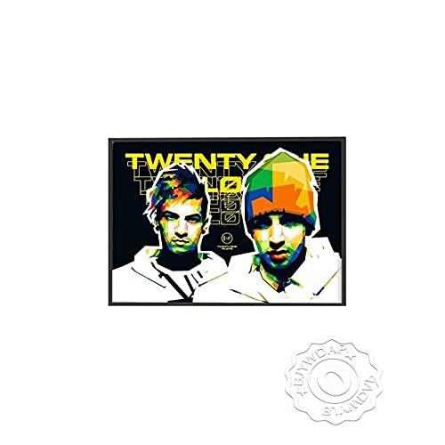 xmydeshoop Rapper Roddy RIcch Poster, JID Alligatoah Poster, Sido Kunstdrucke, The Weeknd Music Poster, The Kid Laroi Bar Pub Club Art Decor 40x60cm No Frame PE-1377