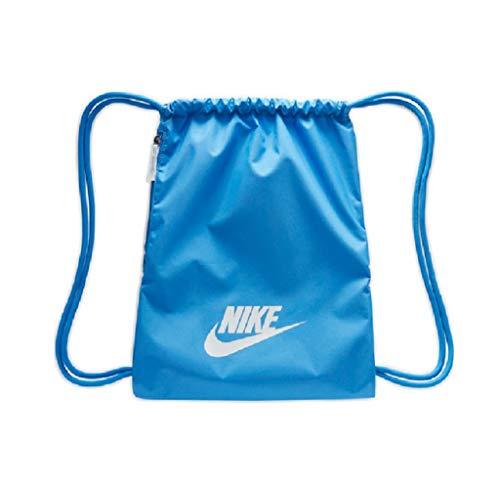 Nike Heritage 2.0 Gymbag Gymsack Turnbeutel (one Size, Blue)