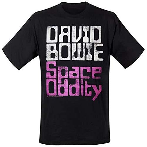 Unbekannt David Bowie Space Oddity Band T-shirt Noir Taille XL