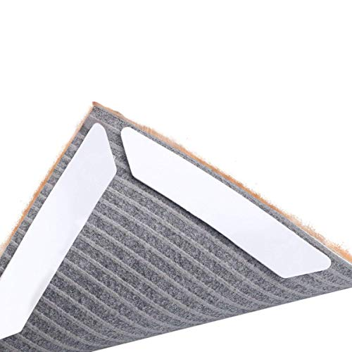 Teppichgreifer Antirutschmatte, wiederverwendbar Teppichunterlage Teppichstopper, starke Klebrigkeit und leicht zu entfernen,rutschfest/Teppichstopper/ Teppichunterlage / Rutschschutz für Teppiche