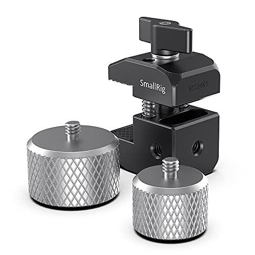 SMALLRIG Counterweight Mounting Clamp Morsetto di Montaggio Contrappeso per DJI Ronin-S /-SC e Zhiyun Weebill-S, Crane Gimbals - 2465