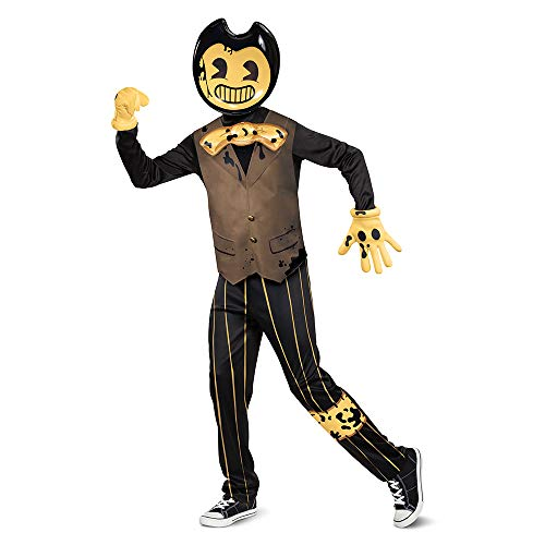 Disguise Bendy Deluxe Costume for Kids, Bendy and The Dark Revival, Size Extra Large (14-16)