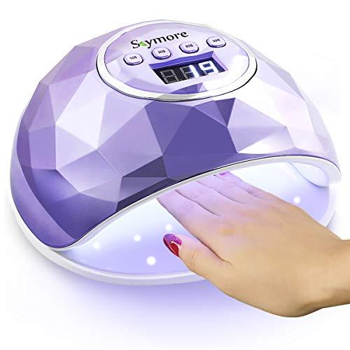 Skymore 86W lampe sèche-ongles, lampe UV LED pour ongles en gel, lampe à ongles professionnelle...