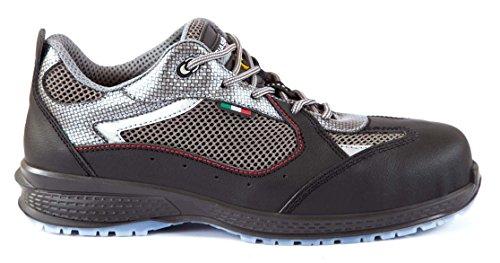 Giasco KU064D41 Chaussure de sécurité bas Surf S1P Taille 41 gris-noir
