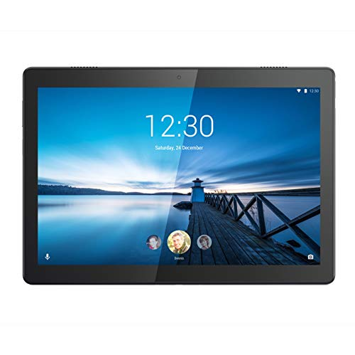 Lenovo TAB M10 Tablet, Display 10.1' HD IPS, Processore Qualcomm Snapdragon 429, 32GB espandibili fino a 128GB, RAM 2GB, WiFi+LTE, Android Oreo, Slate Black