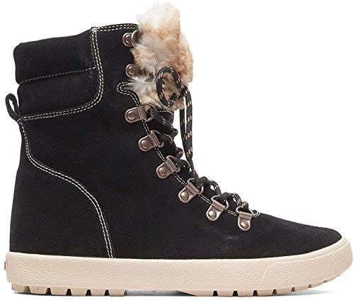 Roxy Anderson - Boots d'Hiver à Lacets - Femme - EU 41 - Noir