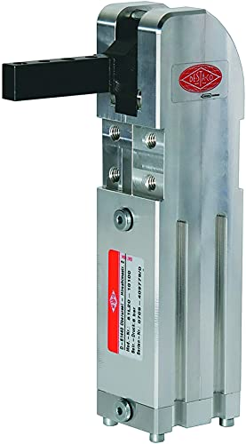 DESTACO 81L25-10100 Pneumatic Block Hold Down Toggle Clamp; Holding Capacity 3930 N, Arm Movement 120 °, Port Thread Size M6
