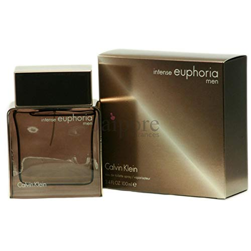 Calvin Klein Euphoria Men Intense Eau de Toilette 100 ml, 1er Pack (1 x 100 ml)