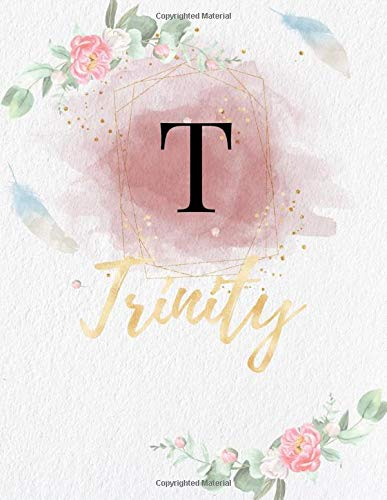 Trinity: Personalized Writing Journal / Notebook for Girls and Women,...