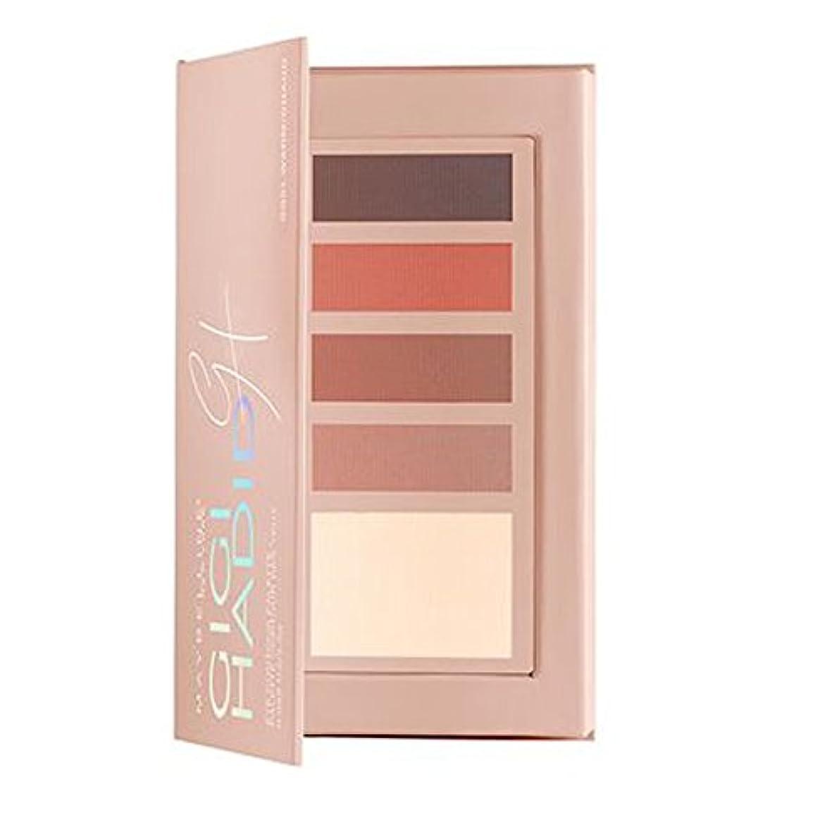 少しラバ宝石メイベリン Gigi Hadid Eye Contour palette - # GG01 Warm 2.5g/0.088oz並行輸入品