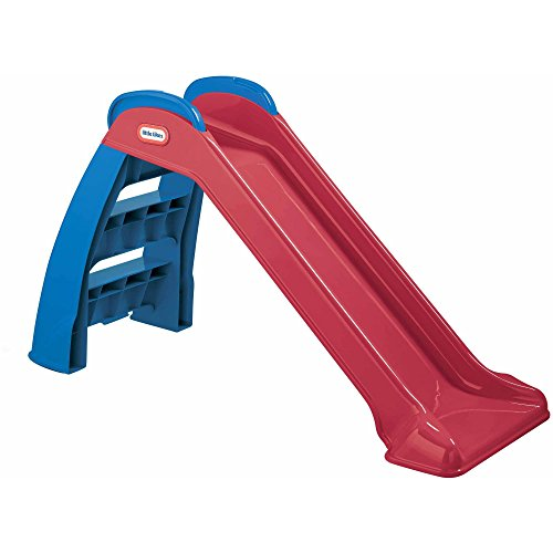 SupremeSaver Toddler Slide and Climber Indoor Outdoor Climbers Slides for Toddlers Folds for Easy Storage Infant Climbers Kids Playground Backyard Fun Toys Plastic Folding New