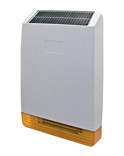 proxe 551043Sirena inalámbrico de Exterior con energía Solar, Blanco