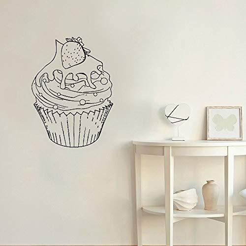 yaonuli Muursticker snoepjes cafe koffie winkel dessert bakkerij decoratie muurschildering vinyl sticker