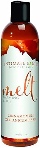 Sale item Intimate Earth Love Naturally Melt Ranking TOP15 Warming Lubricant 4 oz - with