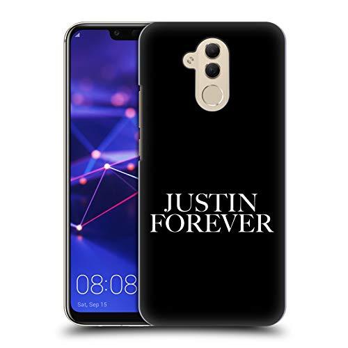 Offizielle Justin Bieber Forever Tour Merchandise Harte Rueckseiten Huelle kompatibel mit Huawei Mate 20 Lite