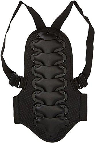 Protectwear RPK-S rugbeschermer kinderen voor motorfiets, ski, snowboard, maat S, zwart