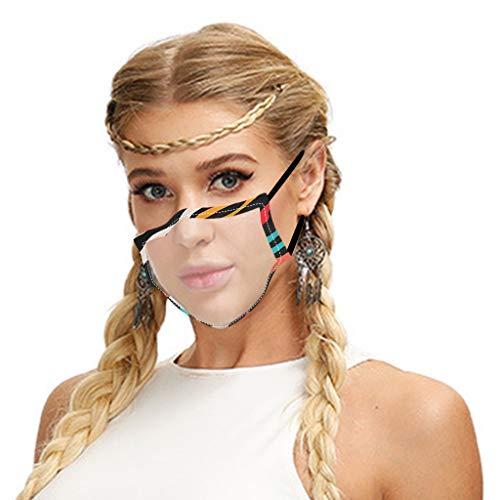 1pc Sexy Staub-, waschbar und wiederverwendbar, Mundschützen Schutz-, Mundschutz-, Atemschutz-, Gesichts-
