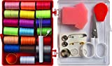 LE PAON Travel Sewing kit with 20 spools Sewing Thread,and Sewing Tool kit