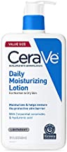 CeraVe Daily Moisturizing Lotion   19 Ounce   Face & Body Lotion for Dry Skin with Hyaluronic Acid   Fragrance Free