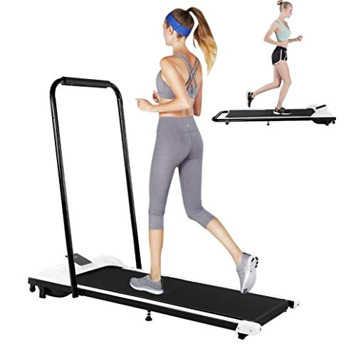 Treadmill,1HP Folding Walking Treadmill | Under-Desk Treadmill Smart Running Treadmill Compact Jogging Exercise Machine with Remote Control & LCD Screen,Max Speed 4 mph, for Home Gym