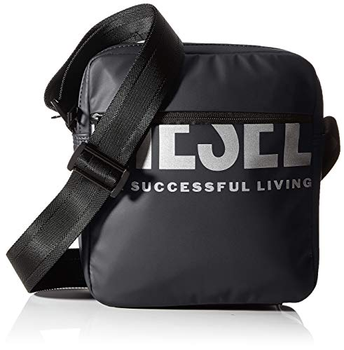 Diesel Herren BOLDMESSAGE F-BOLD DOUBLECROSS Cross Bodybag Man, T8013-P3188, UNI