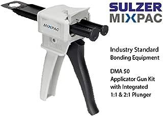 MixPac DMA50 Dispensing Gun Kit for 50ml Epoxy & Adhesive Cartridges (1:1 & 2:1 Ratios)