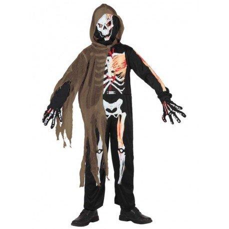 Atosa - 5269 - Costume - Déguisement - Garçon - Squelette - T-4