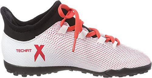 Adidas X Tango 17.3 TF J, Botas de fútbol Unisex niño, Gris (Gris/Correa/Negbas 000), 38 EU
