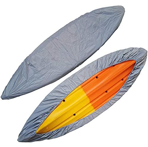 Cubierta para Kayak Almacenamiento de canoas para Botes, Cubierta de protección Solar para Almacenamiento de canoas a Prueba de Agua 2-5.5m Material de Tela Oxford Cubierta de Kayak para Proteger el