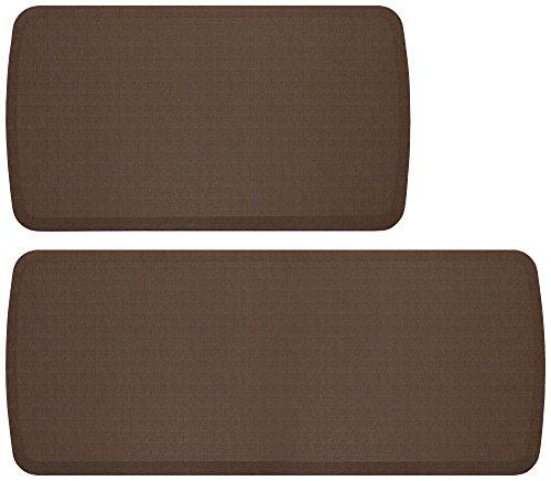 GelPro Elite Anti-Fatigue Kitchen Mat Bundle - Buy More Save More!, 20 x 36 & 20 x 48, Linen Truffle