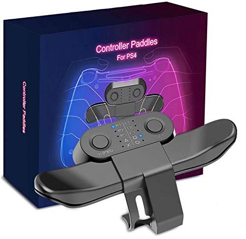 Bouton Arrière PS4,Strike Pack pour PS4,fixation du contrôle arrière pour manette sans fil,pack FPS Strike pour Playstation 4,Palettes de contrôleur(10 touches,bouton de rafale)