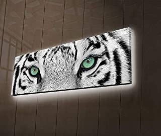 led lighted canvas art