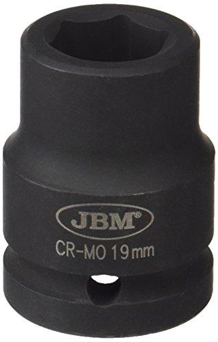 'JBM 11121 – Douille à chocs 6 pans 1/2, 19 mm)