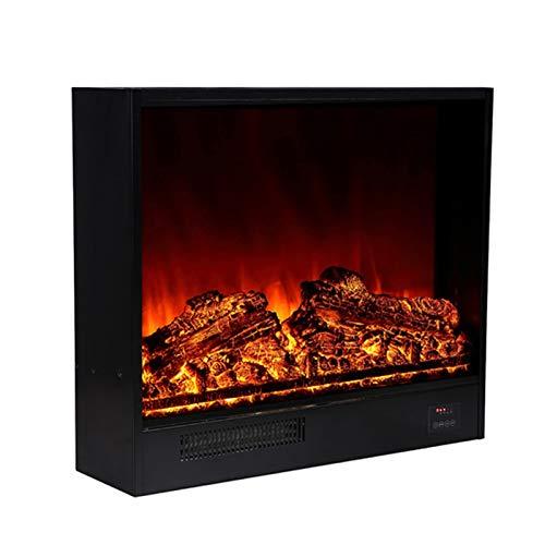 NINAINAI Home Electric Fireplace Inserto de Chimenea eléctrica Duradera, Estufa eléctrica Independiente...