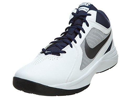 Nike–The Overplay Viii Unisex 41 Blanco/gris/Azul Marino