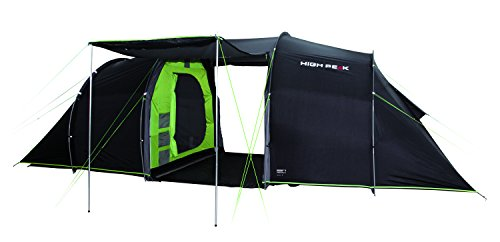 High Peak Unisex's Tauris 6 Tents, Darkgrey/Green, One Size