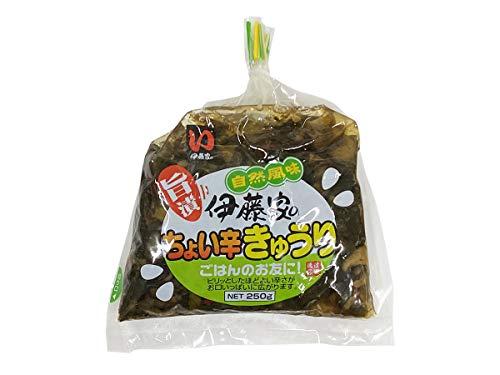 自然風味の旨漬け 伊藤家のちょい辛きゅうり 250g×20袋/箱