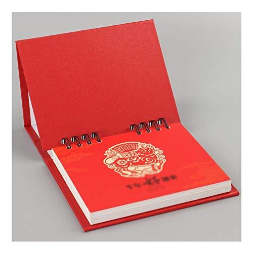 Planificador mensual 2021 Calendario de escritorio de negocios Trabajo Día Bloc de notas El calendario de escritorio de oficina clásico de la manera Calendario Planificación Horario caja de regalo Pla