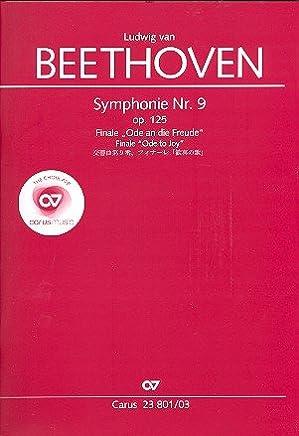 Beethoven: Symphony No  9, Op  125 - Finale (Vocal Score