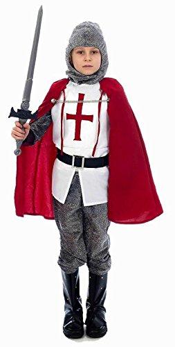 Knight - Disfraz de caballero para nio, talla M (U36 034)