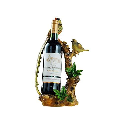 Tingting1992 Botellero Titular de Almacenamiento de Vino Creativo Bird Estante del Vino decoración de la Personalidad Home Cocina Restaurante Vino RackCountertop Gabinete Bodega de Vino