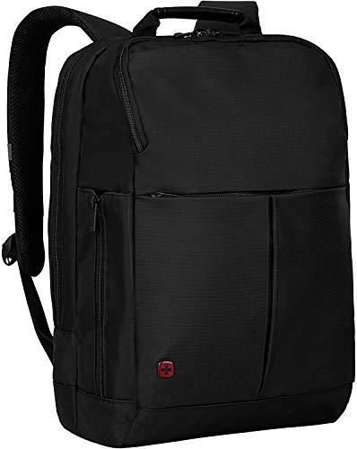 Wenger Reload 16 Laptop-Rucksack, Notebook bis 16 Zoll, Tablet bis 10 Zoll, 16 l, Damen Herren, Business Uni Schule Reisen, Schwarz