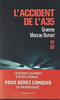 L'accident de l'A35 par Graeme Macrae Burnet
