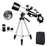 Telescopio Astronomico Zoom HD serie 400/70 mm di Ingrandimento con Treppiede,...